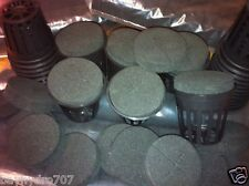 """25pc 2"""" MESH NET CUP POT & 2"""" x 1/2"""" Insert Combo SAVE $$ WITH BAY HYDRO $$"""