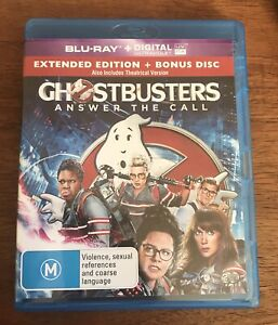 Ghostbusters-answer The Call Blu-Ray Region-ALL