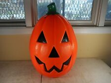 Vintage Empire Pumpkin Jack-O-Lantern Halloween Blow Mold Lawn Decoration 21""