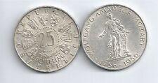 ÖSTERREICH AUSTRIA SILBER 25 SCHILLING 1956 MOZART