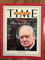 Time Magazine Book - Time Capsule 1949 - The Year in Review - Published 1999