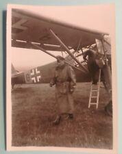 foto luftwaffe flugzeug fieseler storch general kluge