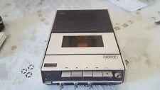 Vintage Sony TC-124  Tape Recorder Cassette Player walkman