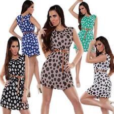 Gepunktete Damenkleider mit 36 Größe