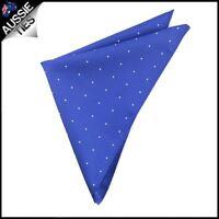 Navy Blue Pin Dot Pocket Square Handkerchief hanky