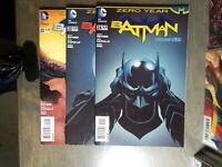 BATMAN 3 Book lot #22,23,24 New 52  1st print  D.C Comics Snyder/Capullo NM 2013