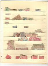 EARLY PHILIPPINES REVENUE STAMP COLLECTION