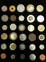 World Coins From 30 Different Countries-Classic Coins Not Found in Cheap Hoards