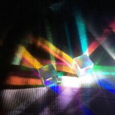 Defective Dichroic Cube Beam Splitter Optical Glass Prism 2.4*2.4*2.5cm 4pcs