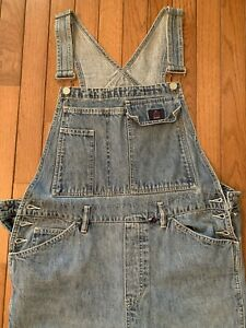 Vintage Calvin Klein Womens Overalls Size Large Carpenter Great Condition!!