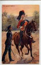 (Ls499-383) Harry Payne, The Black Watch, Field Officer  9994 VG