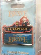 DSF DISNEY SODA FOUNTAIN Brave w Merida  El Capitan Marquee PIN LE 300