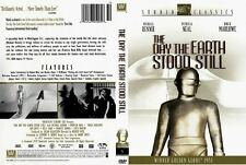 THE DAY THE EARTH STOOD STILL CLASSIC FILM DVD 92 minutes B+W 1951 PATRICIA NEAL