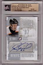 JEREMY ROENICK 12/13 ITG Ultimate To The Hall Auto Autograph #/29 SP Flyers
