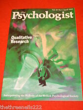 THE PSYCHOLOGIST - QUALITATIVE RESEARCH - APRIL 1997