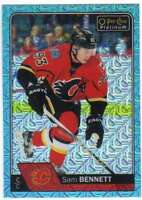 2016-17 O-Pee-Chee Platinum Ice Blue Traxx Parallel #130 Sam Bennett Flames