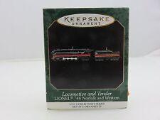 Hallmark Keepsake Ornament LOCOMOTIVE AND TENDER Lionel Miniature Train