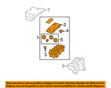 GM OEM Electrical-Fuse & Relay Box 25865467