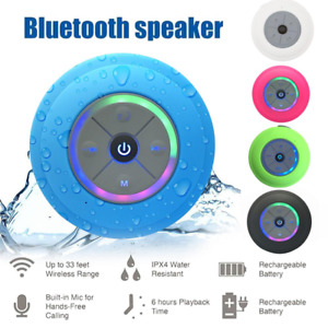 Portable Waterproof LED Bluetooth Wireless Speaker Portable For Samsung iPhone