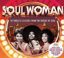 VARIOUS - SOUL WOMAN BRAND NEW SEALED 4CD