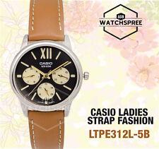 Casio Ladies' Standard Analog Watch LTPE312L-5B LTP-E312L-5B