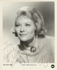 PATTI PAGE Autographed Signed Photograph