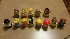 Fisher Price Little People Disney Princess Figures 12 pc. replacement Guc fp