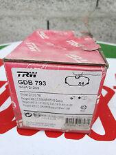 DESTOCKAGE! kit plaquette de frein AVANT PEUGEOT 405 2.0 GRI SRI 306 S16 ZX 16V