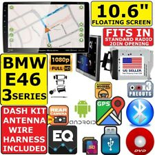 "Bmw E46 3 Series 10.6"" Navigation Bluetooth Usb Cd/Dvd Car Radio Stereo Package"