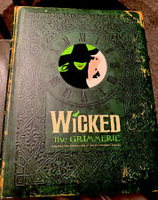 Wicked:The Grimmerie, Behind-the-Scenes at the Hit Broadway Musical Like New!