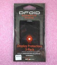 MOTOROLA DROID RAZR MAXX HD & RAZR HD ANTI-GLARE DISPLAY PROTECTORS - 3-PACK