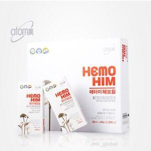 ATOMY HemoHIM Dietary Supplement Food Immunity Herbal Extract 20ml Pack of 60EA