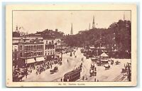 Postcard Central Square, Keene NH G21