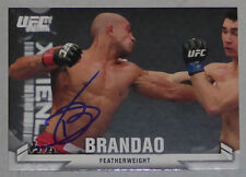 Diego Brandao Signed UFC 2013 Topps Knockout Card #63 Autograph 146 153 168 195