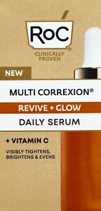 Roc Multi Correxion Revive + Glow Daily Serum 1 oz - Nib