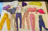 Vintage Barbie Doll CLOTHES LOT Clothing Mattel 80s 90s Outfits