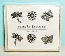 Candle Jewelry Pins Decorations, Set of 6 from Pier 1 Imports New in PKG.