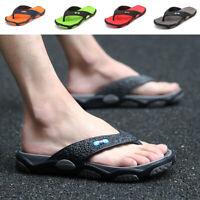 Men's Flip Flops Sandals Beach Casual Flip-flops Shoes Flats US Szie9-11 Summer