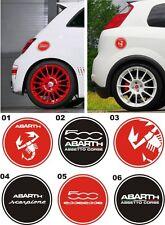 Adesivo per Tappo benzina FIAT 500 ABARTH, GRANDE PUNTO ABARTH
