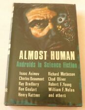 Almost Human - Androids in Science fiction 1965 HARDBACK BOOK Isaac Asimov, etc