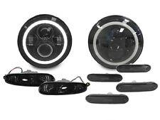 8PCS 90-97 Mazda Miata MX5 MX-5 LED Headlight + Smoke Signal + Side Marker Light