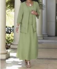 Mother of Bride Groom Women's Wedding evening Church beaded jacket dress plus 2X
