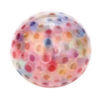 Squeeze Bead Gel Stress Ball Fidget Sensory Bead Filled Toy Anti Stress