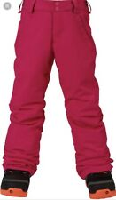 New Burton Sweetart Marilyn Dryride Snowboarding Pants Pink Medium Ski Girls