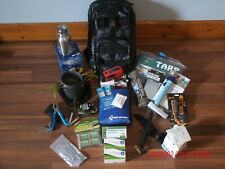 Ideal Hand-Made Emergency Bug Out Bag Backpack Survival Kit Camping Gear Hiking