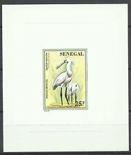 Senegal Oiseaux Spatules Spoonbill Birds Loffler Vogel Epreuve Die Proof ** 1996