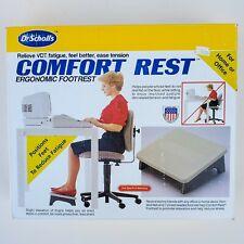 Dr. Scholls Ergonomic Foot Rest Under Desk Office Portable Foot Stool Comfort