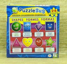 Puzzle Bug, Learning Shapes Puzzle by LPF, 24 Pieces, Ages 5+