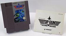 Nintendo NES - Top Gun The Second Mission + Anleitung - PAL B NES-OG-NOE