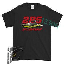 Scarab Jet Boats 285 2020 New Black T-Shirt Usa sz S - Xxl #001